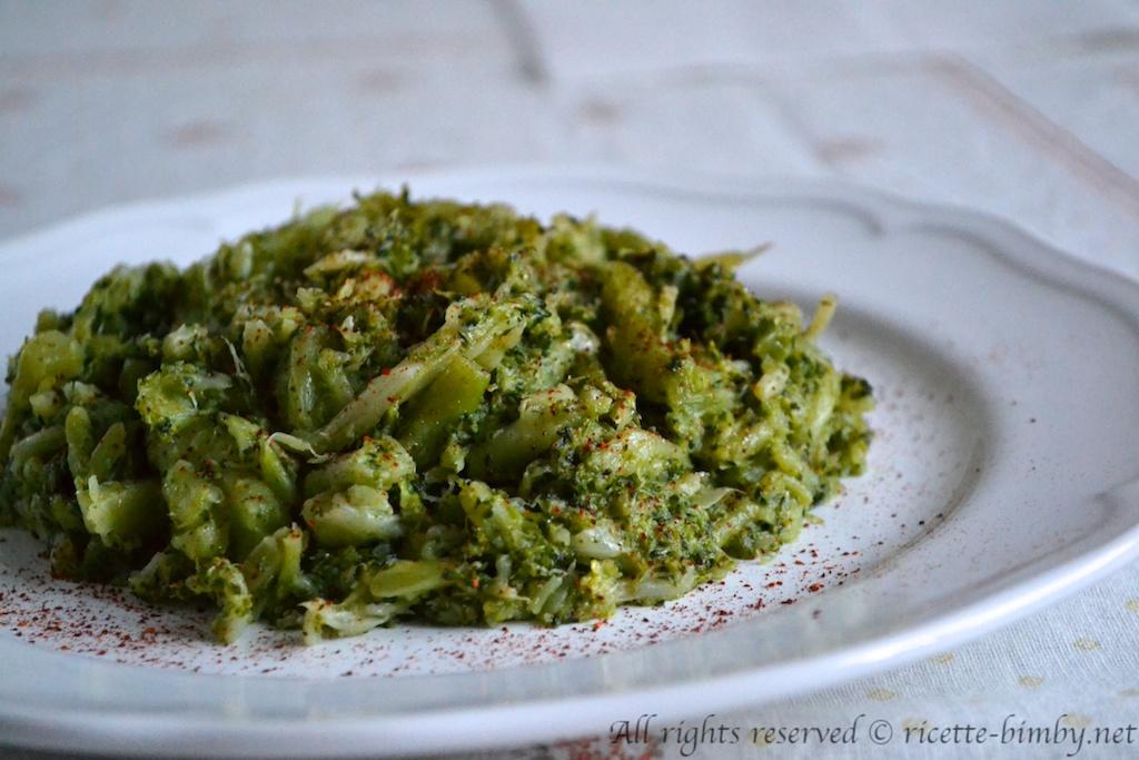 Thermomix Stuffed broccoli