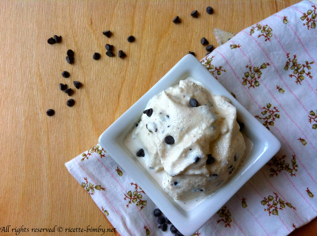 Thermomix Stracciatella gelato