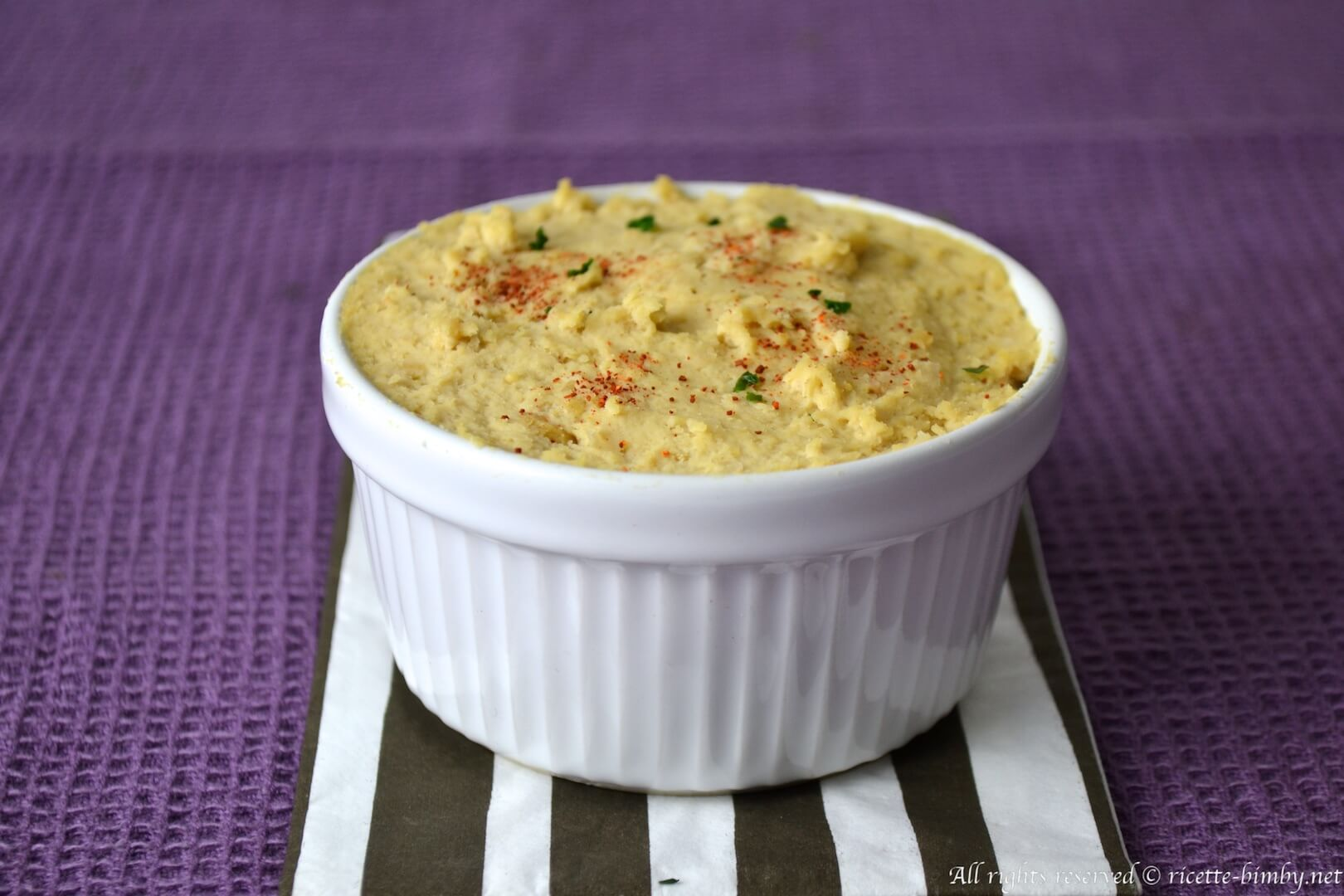 Thermomix Chickpea hummus