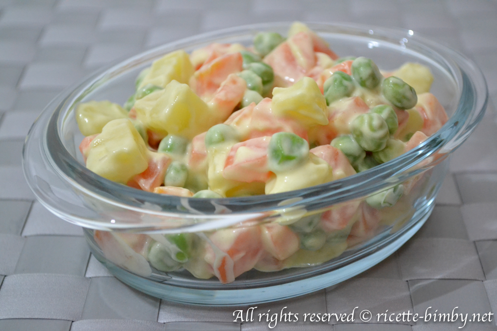 Thermomix Russian salad